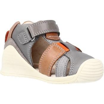 Schuhe Jungen Sandalen / Sandaletten Biomecanics 212135 Grau