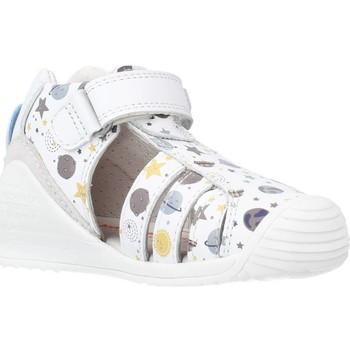 Schuhe Jungen Sandalen / Sandaletten Biomecanics 212142 Weiß