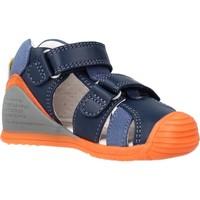Schuhe Jungen Sandalen / Sandaletten Biomecanics 212143 Blau