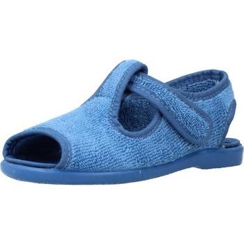 Schuhe Jungen Hausschuhe Vulladi 3105 052 Blau