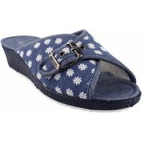 Schuhe Damen Hausschuhe Garzon Geh nach Hause Frau  753.140 blau Blau