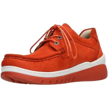 Schuhe Damen Derby-Schuhe Wolky Schnuerschuhe Time Antique 0485311/555 rot