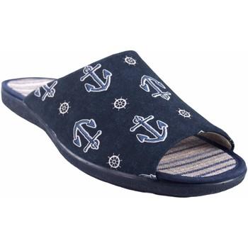 Schuhe Herren Hausschuhe Garzon Gehen Sie mit Hausherr  6975.133 blau Blau