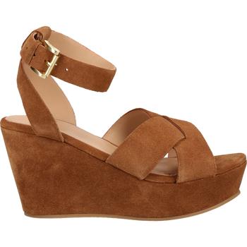 Schuhe Damen Sandalen / Sandaletten Sansibar Sandalen Mittelbraun