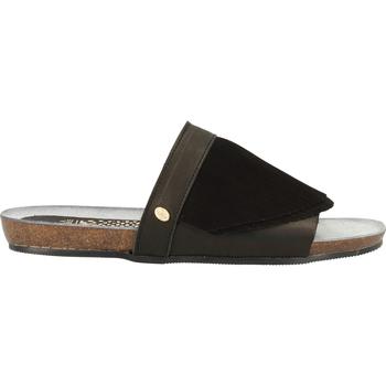 Schuhe Damen Pantoletten / Clogs Fred de la Bretoniere Pantoletten Schwarz
