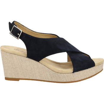 Schuhe Damen Sandalen / Sandaletten Ara Sandalen Blau/Silber