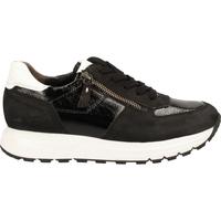 Schuhe Damen Sneaker Low Paul Green Sneaker Schwarz/Weiß