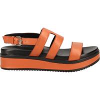 Schuhe Damen Sandalen / Sandaletten Shabbies Amsterdam Sandalen Hellbraun