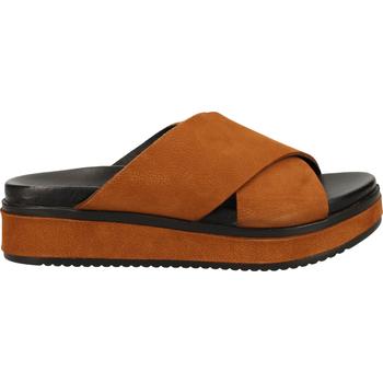 Schuhe Damen Pantoletten / Clogs Shabbies Amsterdam Pantoletten Beige