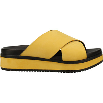 Schuhe Damen Pantoletten / Clogs Shabbies Amsterdam Pantoletten Gelb