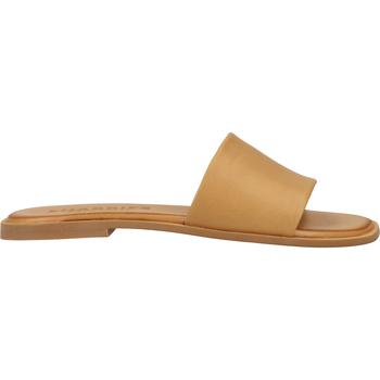 Schuhe Damen Pantoletten / Clogs Shabbies Amsterdam Pantoletten Camel