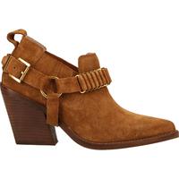 Schuhe Damen Boots Bronx Stiefelette Cognac