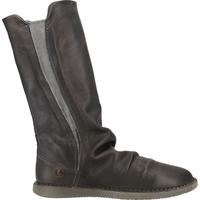 Schuhe Damen Klassische Stiefel Softinos Stiefel Anthracite