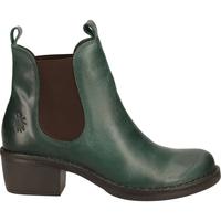 Schuhe Damen Boots Fly London Stiefelette Petrol