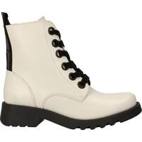 Schuhe Damen Boots Fly London Stiefelette White