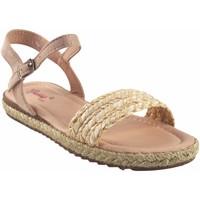 Schuhe Mädchen Sandalen / Sandaletten Bubble Bobble Mädchensandale  a3048 beig Weiss