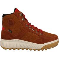 Schuhe Damen Boots Legero Stiefelette Cognac
