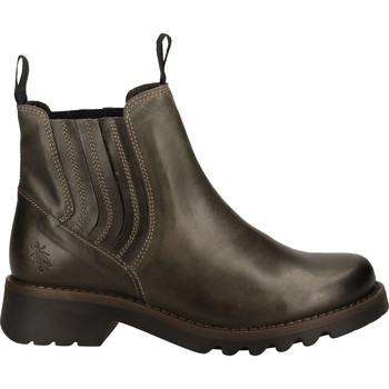 Schuhe Damen Boots Fly London Stiefelette Braun