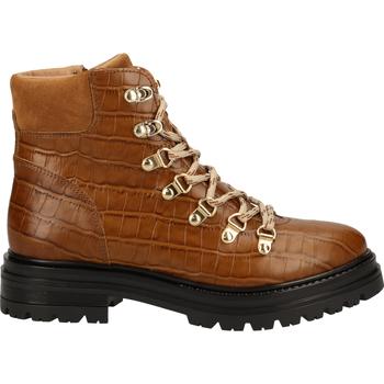 Schuhe Damen Boots Scapa Stiefelette Cuoio