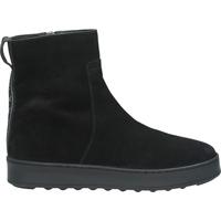 Schuhe Damen Boots Sansibar Stiefelette Schwarz