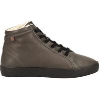 Schuhe Damen Boots Softinos Stiefelette Grey