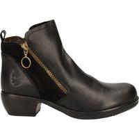 Schuhe Damen Boots Fly London Stiefelette Black