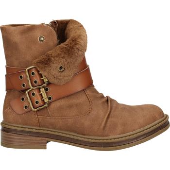 Schuhe Damen Boots Blowfish Malibu Stiefelette Hellbraun