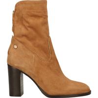 Schuhe Damen Boots Fred de la Bretoniere Stiefelette Cognac