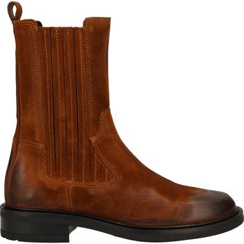 Schuhe Damen Klassische Stiefel Bronx Stiefel Cognac