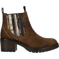 Schuhe Damen Boots Lazamani Stiefelette Khaki