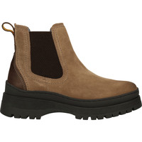 Schuhe Damen Boots Camel Active Stiefelette Taupe