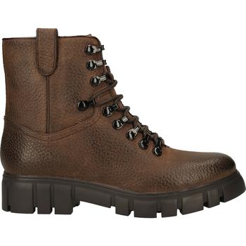 Schuhe Damen Boots Steven New York Stiefelette Dunkelbraun