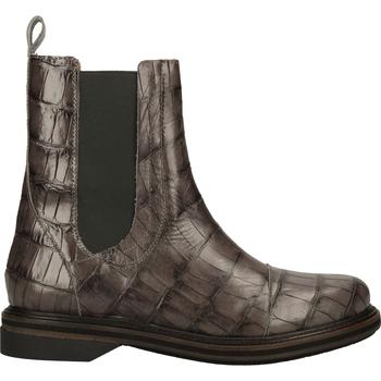 Schuhe Damen Boots Shabbies Amsterdam Stiefelette Braun