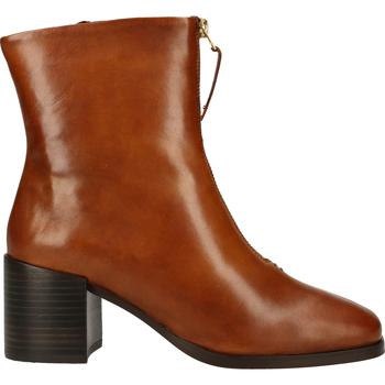 Schuhe Damen Boots Steven New York Stiefelette Cognac