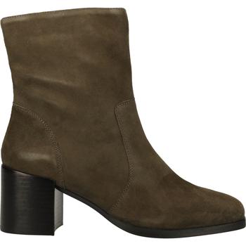 Schuhe Damen Boots Steven New York Stiefelette Grün
