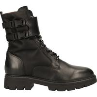 Schuhe Damen Boots NeroGiardini Stiefelette Schwarz