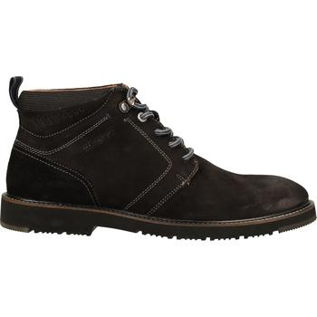 Schuhe Herren Boots Salamander Stiefelette Schwarz