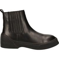 Schuhe Damen Boots Shabbies Amsterdam Stiefelette Black