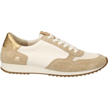 Schuhe Damen Sneaker Low Paul Green Sneaker Beige/Weiß