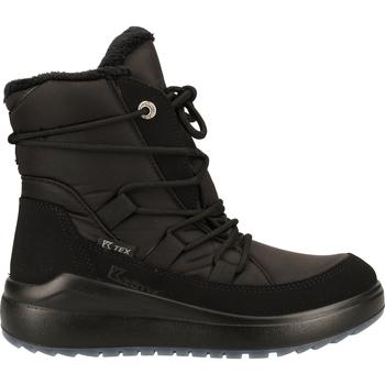 Schuhe Damen Boots Kastinger Stiefelette Schwarz