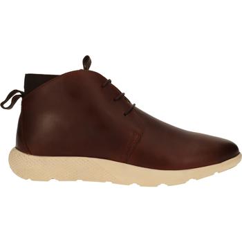 Schuhe Herren Boots Sansibar Stiefelette Mittelbraun