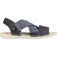 Schuhe Damen Sandalen / Sandaletten Softinos Sandalen Navy