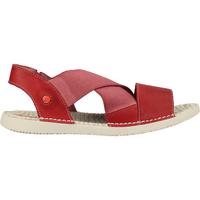 Schuhe Damen Sandalen / Sandaletten Softinos Sandalen Red