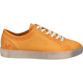 Schuhe Damen Sneaker Low Softinos Sneaker Orange