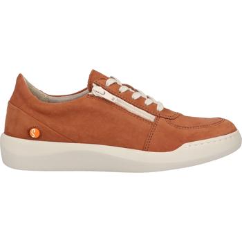 Schuhe Damen Sneaker Low Softinos Sneaker Braun