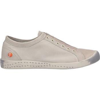 Schuhe Damen Sneaker Low Softinos Sneaker Hellgrau