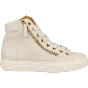 Schuhe Damen Sneaker High Paul Green Sneaker Grau/Braun