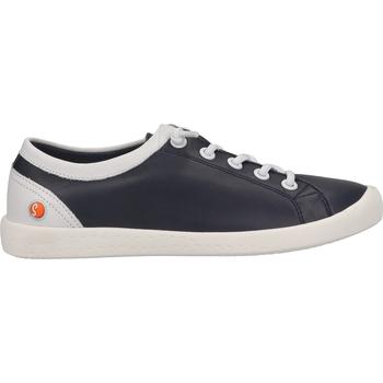 Schuhe Damen Sneaker Low Softinos Sneaker Navy/Weiß