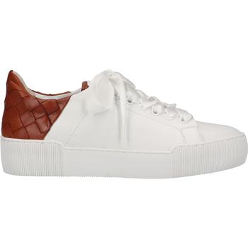Schuhe Damen Sneaker Low Högl Sneaker Weiß/Braun