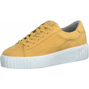Schuhe Damen Sneaker Low S.Oliver Sneaker Gelb